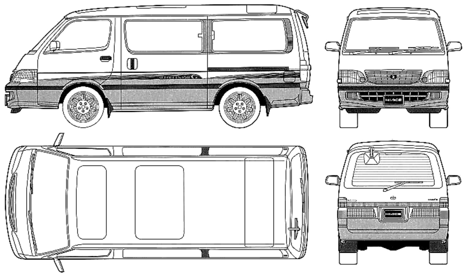hight resolution of toyota hiace super custom wagon view download wallpaper 757x449 comments