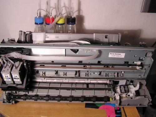 Canon yazıcısına bir kartuş ekle