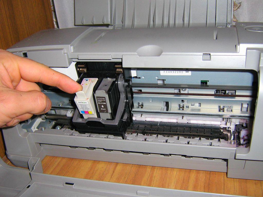 Canon yazıcıda bir kartuş nasıl kurulur
