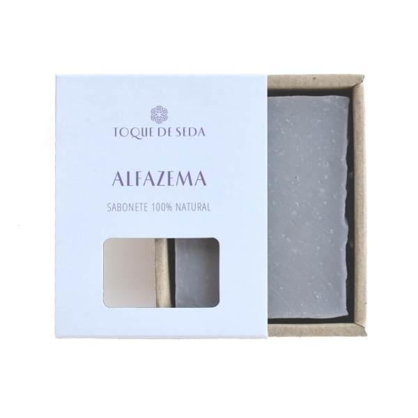 sabonete de alfazema em caixa de cartão