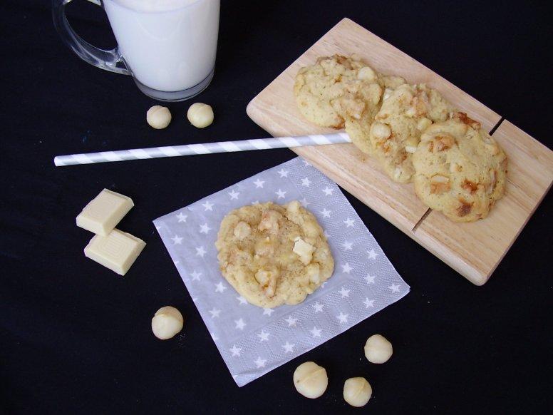 cookie chocolat blanc et noix de macadamisa