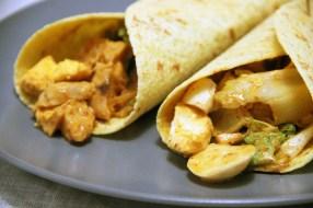 Wrap poulet-kimchi