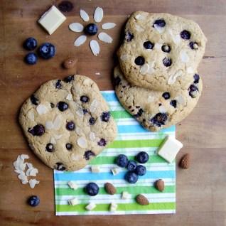 cookie amande-myrtille