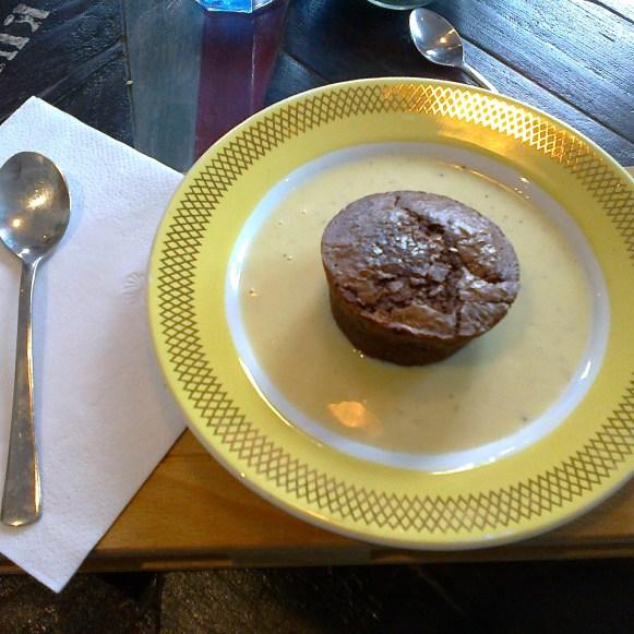 moelleux au chocolat fait-maison