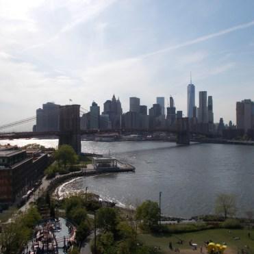 Le Financial District depuis le Manhattan bridge