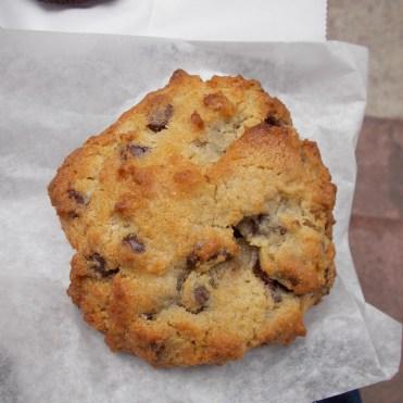 le cookie noix et pépites de chocolat
