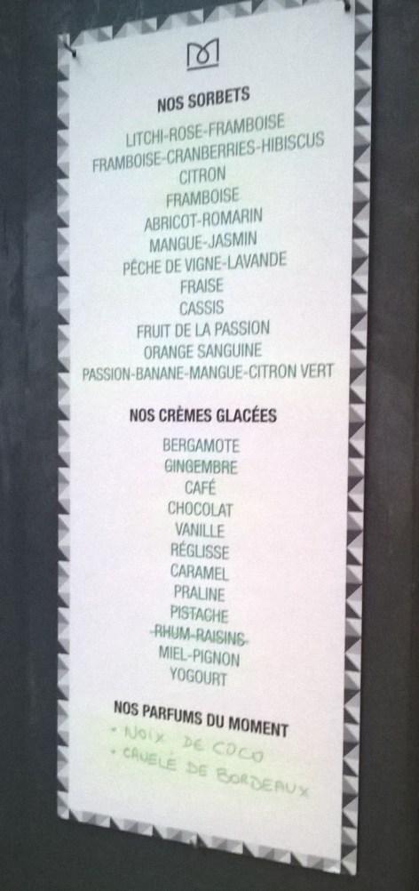 liste des parfums