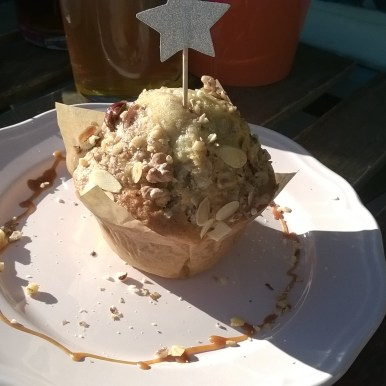 Muffin amande, noix, noisette