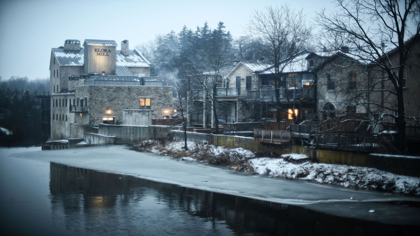 THE LAP OF LUXURY:  OVERNIGHT AT THE ELORA MILL & SPA