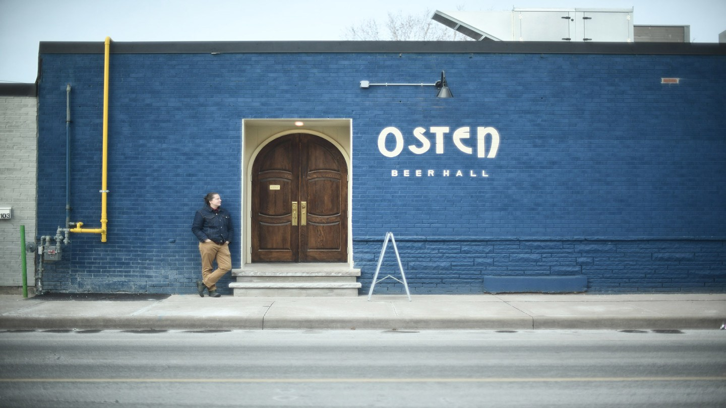 A CLOISTERED EXPERIENCE: HAMILTON'S OSTEN BEERHALL