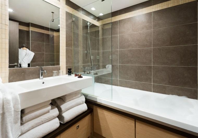 salle de bains Loges Blanches