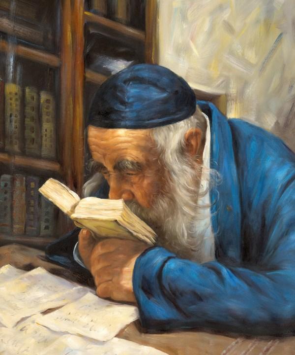 Painting Rabbi Kanievsky