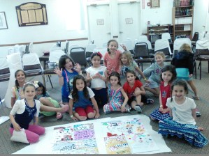 Jewish Year activity, summer 2015