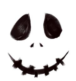 clipart pour museau scary halloween [ 800 x 1017 Pixel ]