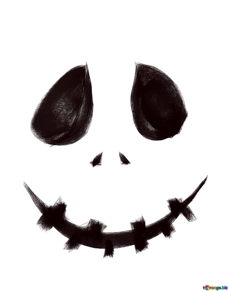 hight resolution of clipart pour museau scary halloween