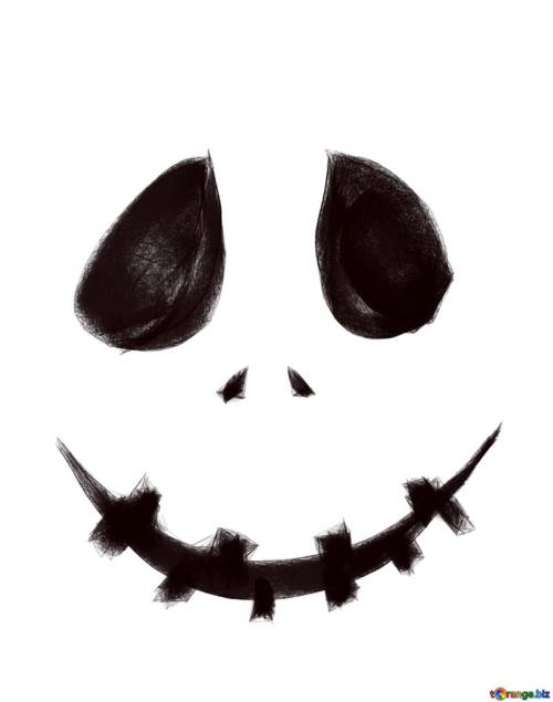 small resolution of clipart pour museau scary halloween