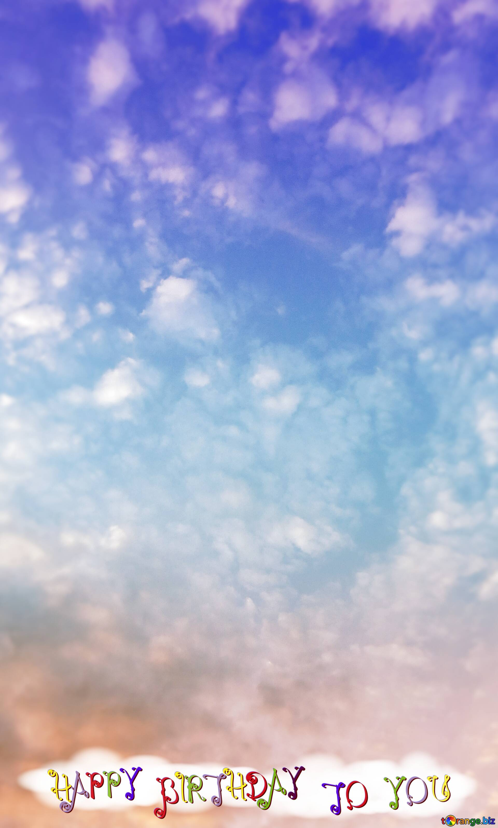 Download Free Picture Clouds Sky Happy Birthday Background On Cc By License Free Image Stock Torange Biz Fx 210487