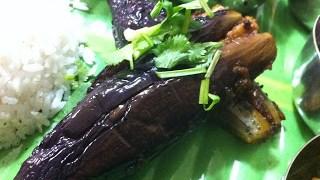 ある日の夕食 Ennai Kathirikai