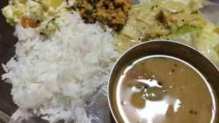 在庫整理の南インド料理・自宅