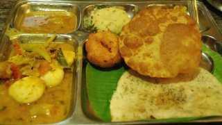 南インド旅行17 チェンナイ9 チェンナイ最終日 朝食と朝食前の腹ごなし