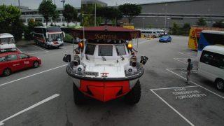 南インド旅行19 シンガポール2 帰国前のトランジットとカトリーナ