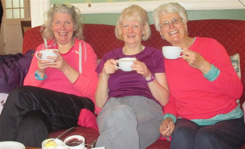 Ladies who lunch? well, take tea anyway....