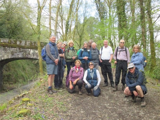 Plym Bridge Walk - April 2018