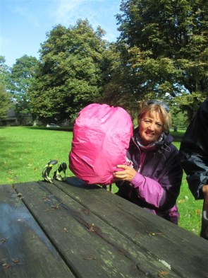 The only PINK rucksack cover!