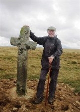 Chairman Jim at Ter Hill East Cross