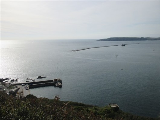 The Plymouth Sound Breakwater