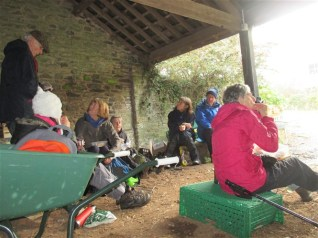 Shelter for lunch