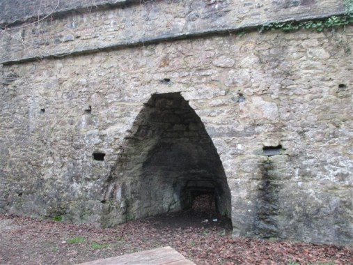 Lime Kilns on Dartington Access Way