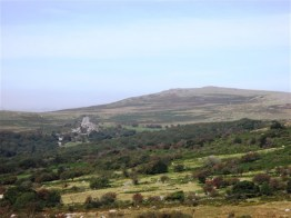 Vixen Tor in the distance