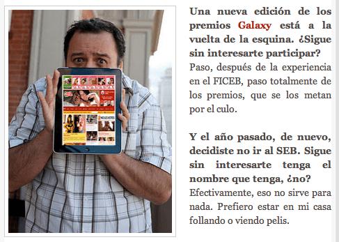El outsider del porno español
