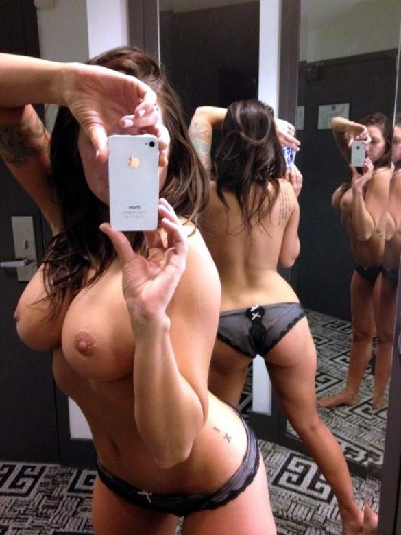 La moda de hacerse selfies en los probadores