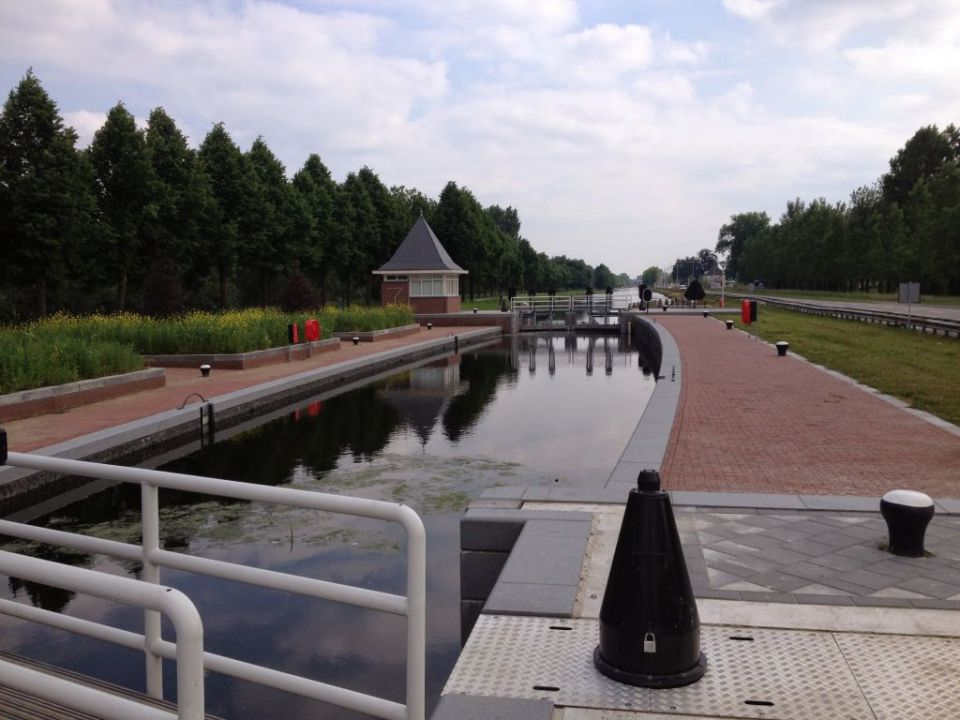 Lock on a canal