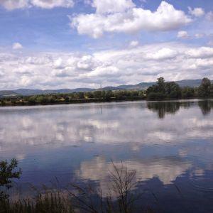 River view Crêches-sur-Saône France