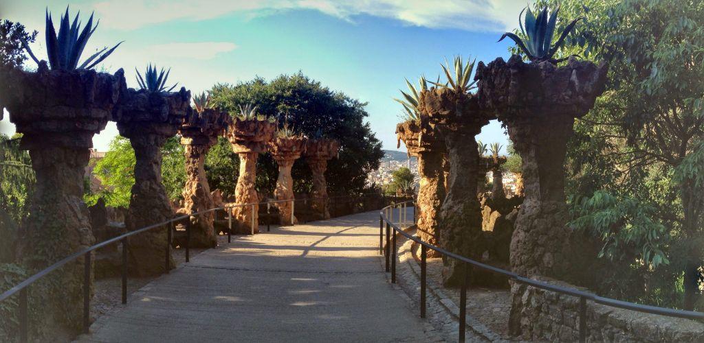 Arches Park Güell