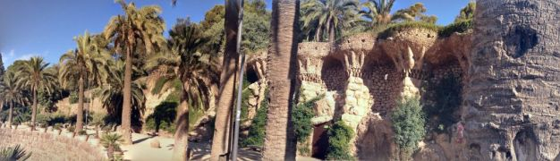 Park Guell Barcelona Arches