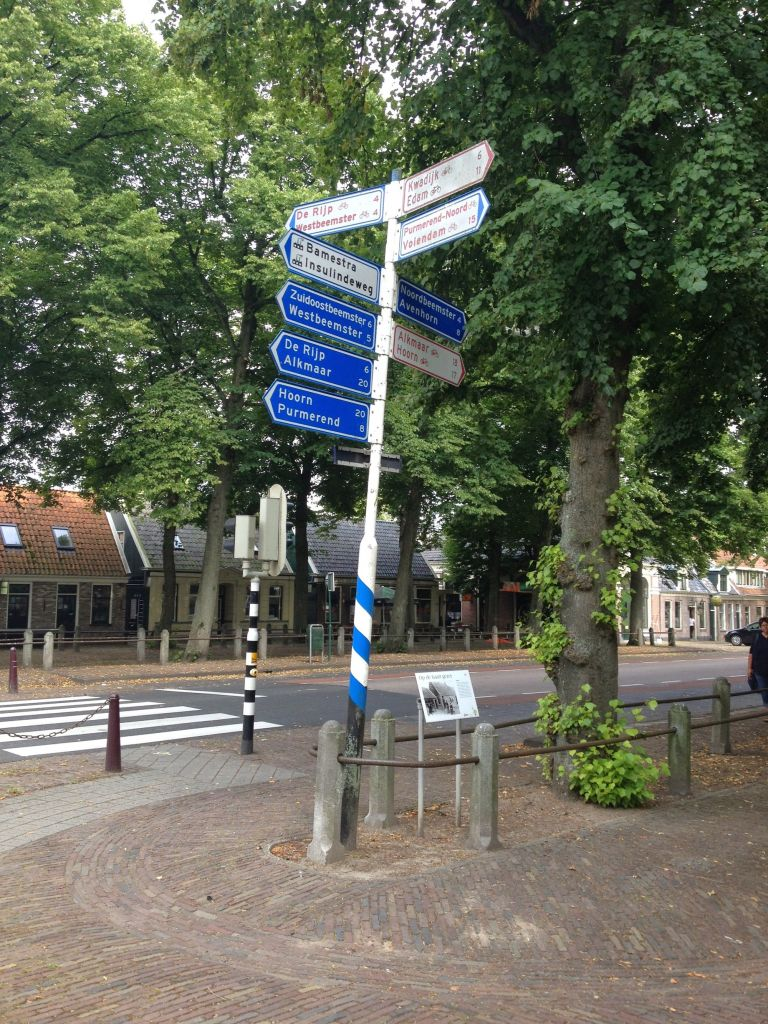road sign in Middenbeemster
