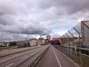 Skanstulls Bron cycle path