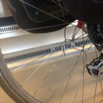 Totta's broken back wheel