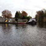 Side canals in Aalsmeer