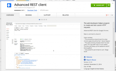 Advanced REST client - Chrome Web Store