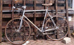 old race bike