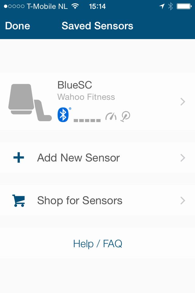 Wahoo BlueSC Pairing Sensor
