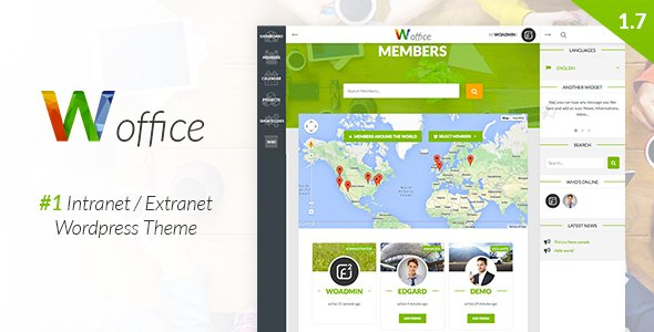 w-officee wordpress theme