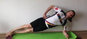 a side plank challenge