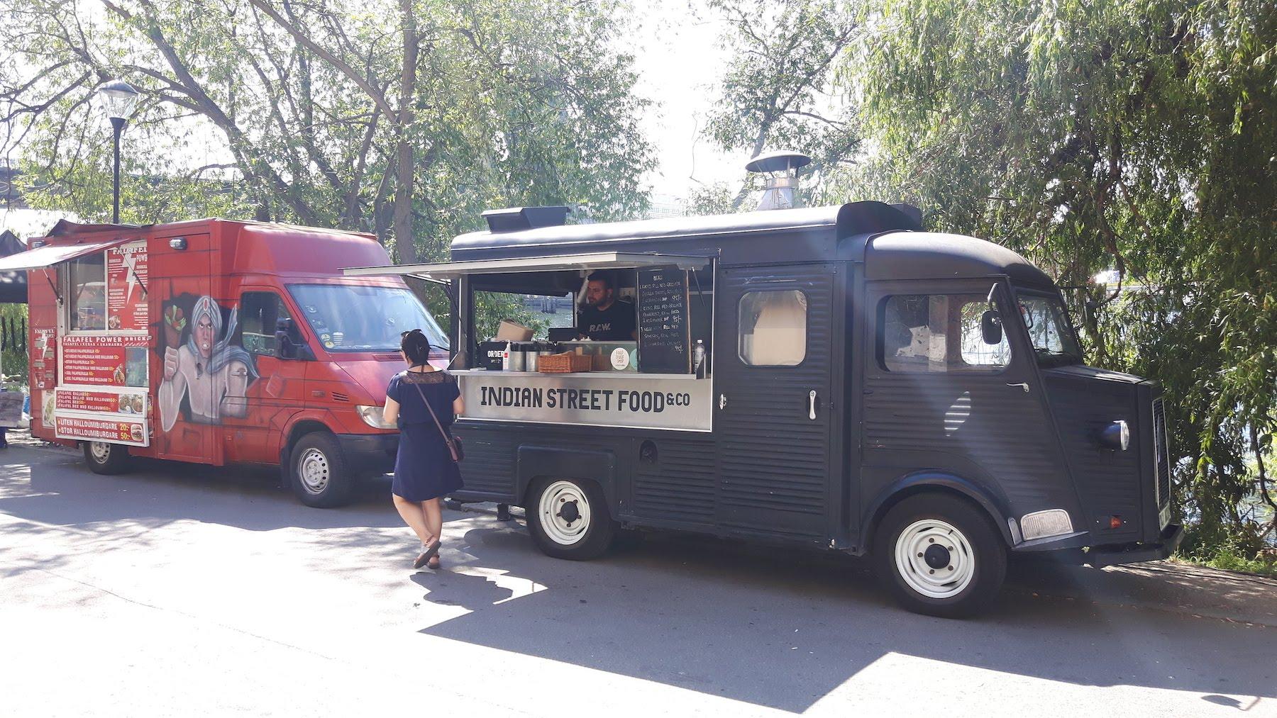 Stockholm Food Truck Hornstulls strand