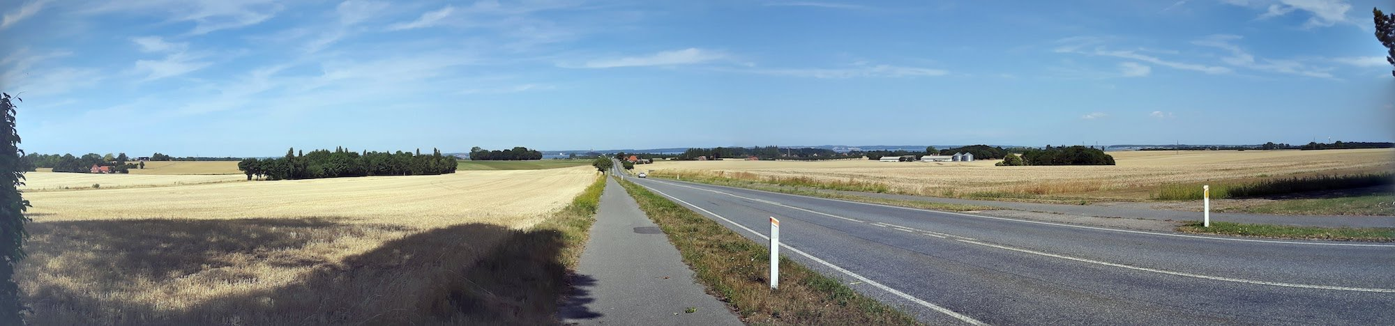 On the road in Denmark
